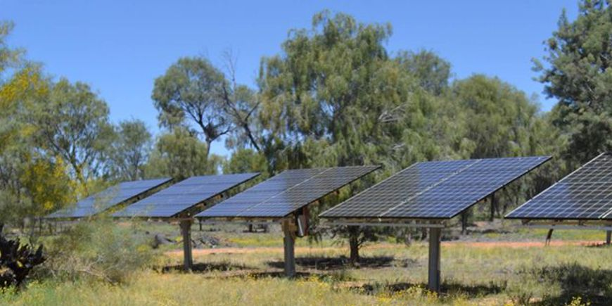 Centre de test PV Desert Knowledge Australia