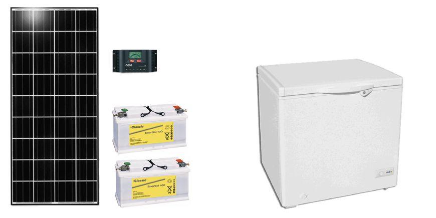 Kit de réfrigérateur solaire
