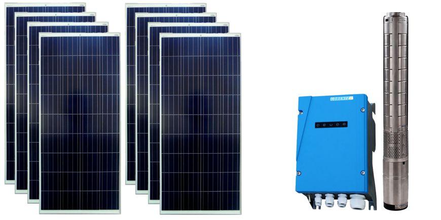 Système solaire de pompage pour l'irrigation d'un site isolé en Auvergne