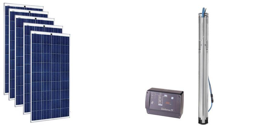 Système de pompage solaire Grundfos pour le Bénin