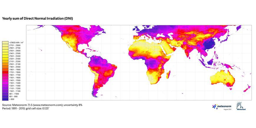 Top Quelques cartes d'ensoleillement – Ecosolaire AZ02