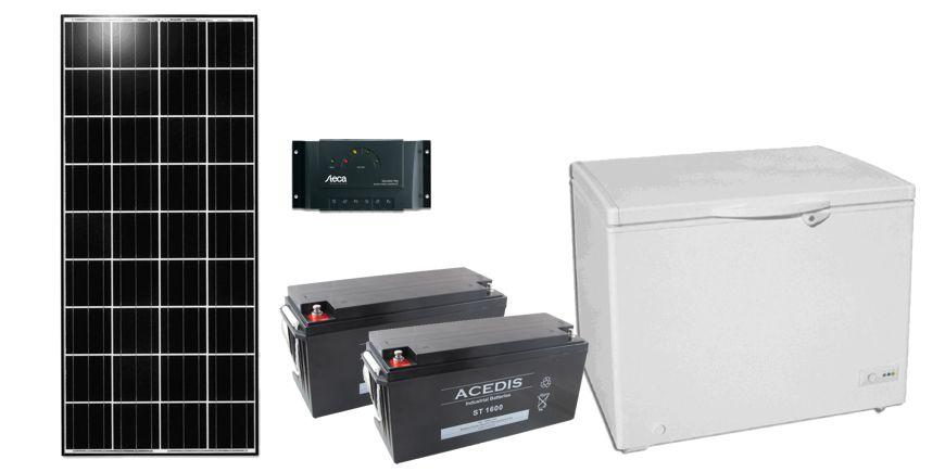 Système solaire pour réfrigérateur pour le Bénin