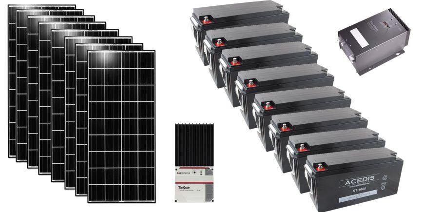 Système solaire d'éclairage au Bénin