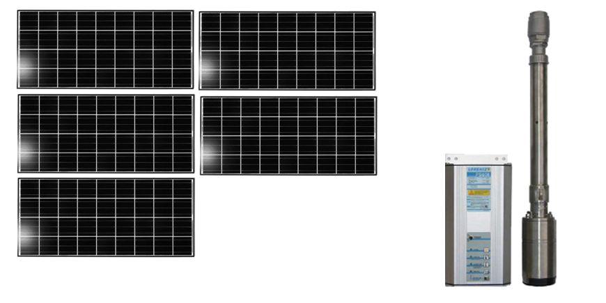 Système de pompage solaire pour le Bénin