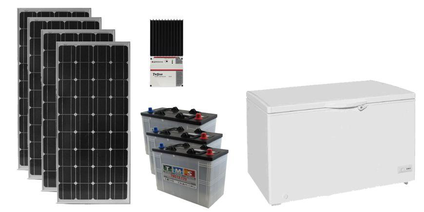 Système solaire conservateur pour le Gabon