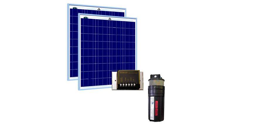 Système solaire de pompage Shurflo