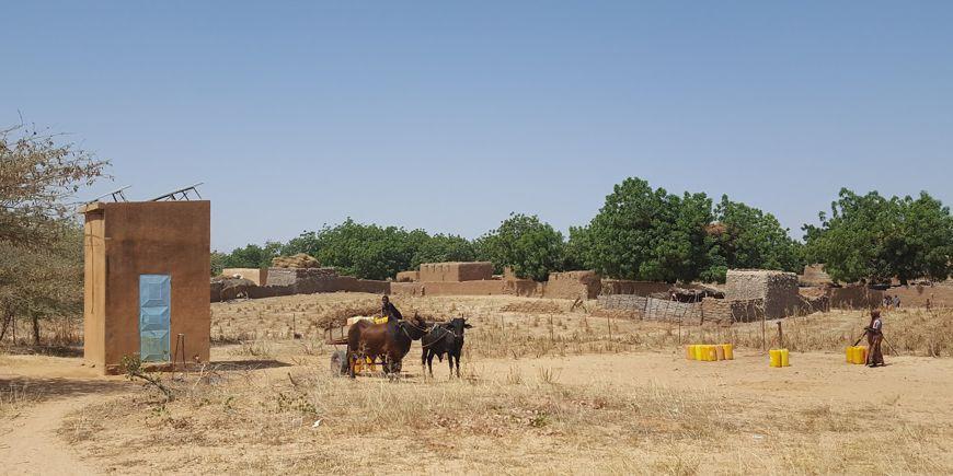 Système de pompage solaire au Niger